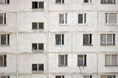 Плоский взгляд окон жилого дома Стоковые Изображения RF