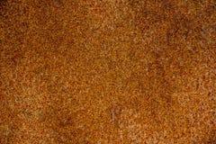 Плоский железный лист покрытый с старой ржавчиной Стоковое Фото