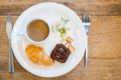 Плоский завтрак положения Стоковые Фото