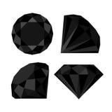 Плоский значок диаманта иллюстрация штока