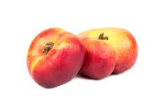 плоский персик 2 Стоковое Изображение RF