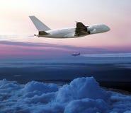 Плоский принимать в небо Стоковое фото RF