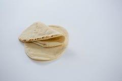 2 плоских хлеба Стоковое Фото