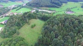 Плоское летание, вид с воздуха, RC видеоматериал