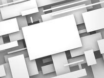 плоскость 3d конспект представляет Стоковые Изображения