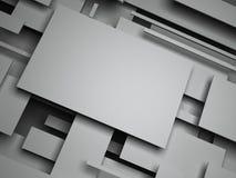 плоскость 3d конспект представляет Стоковое Изображение