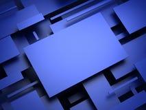 плоскость 3d конспект представляет Стоковое фото RF