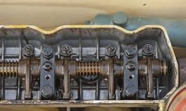Плоск-лицая крышка головки цилиндра Стоковые Фото