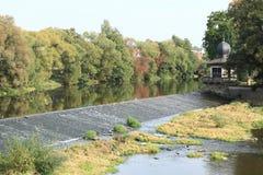 плотина Стоковая Фотография