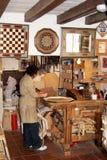 Плотник в мастерской, дворце Альгамбра Стоковая Фотография RF