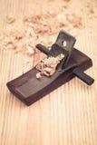 Плотничество деревянного planer Стоковое Изображение RF