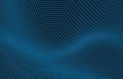 плотное строение абстрактной предпосылки голубое вверх по стене Стоковое Изображение RF