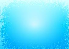 плотное строение абстрактной предпосылки голубое вверх по стене Стоковое Фото