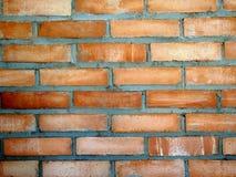 плотное строение кирпича вверх по стене Стоковые Фотографии RF