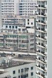 Плотность жить в запустелых городских местностях, Haiko, Китай стоковое фото rf