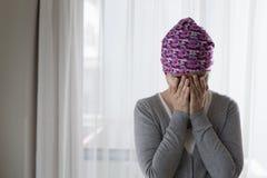 Плохая женщина рака Стоковые Изображения RF