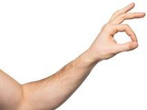 плохая ложная рука жеста не значит нет Стоковое Фото