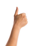 плохая ложная рука жеста не значит нет Стоковые Изображения