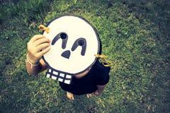 Плохие дети хотят сыграть хеллоуин Стоковое Фото
