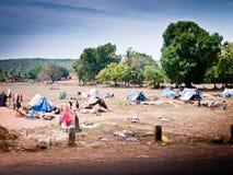 Плохие области Индии Стоковая Фотография RF