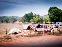 Плохие области Индии Стоковые Изображения