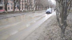 Плохие дороги в городе акции видеоматериалы