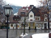 Плохое Hofgastein, Австрия Стоковые Изображения RF