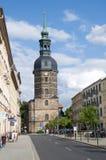 Плохое Schandau, Saxon Швейцария, Германия Стоковые Изображения