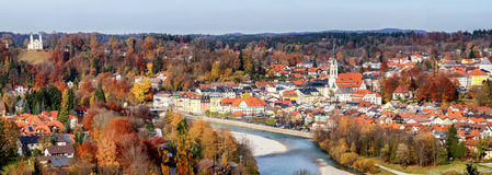 Плохое Toelz - Бавария Стоковые Фотографии RF