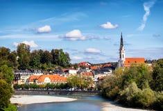 Плохое Toelz - Бавария Стоковое фото RF