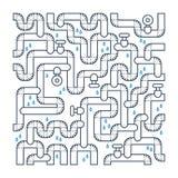 Плохой трубопровод Утечка трубы Проблемы Canalization Стоковые Фото