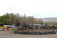 Плохой юг - американский дом фермы, Аргентина Стоковое Изображение RF