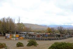 Плохой юг - американский дом фермы, Аргентина Стоковые Изображения RF