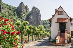 Плохой Muenster am Stein, Германия, Rhineland-Palatinate стоковые фото