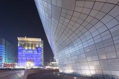 Площадь дизайна Dongdaemun на n Стоковое фото RF