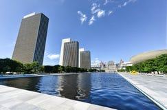 Площадь Имперского штата в Albany, Нью-Йорке Стоковое фото RF