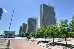 Площадь Имперского штата в Albany, Нью-Йорке Стоковое Фото