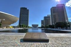 Площадь Имперского штата в Albany, Нью-Йорке Стоковая Фотография
