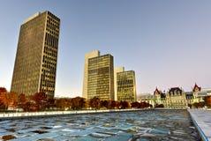 Площадь Имперского штата - Albany, Нью-Йорк Стоковая Фотография RF