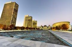 Площадь Имперского штата - Albany, Нью-Йорк Стоковая Фотография