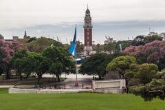 Площадь Сан Мартин Буэнос-Айрес стоковые фотографии rf