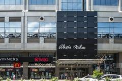 Площадь Alexis Nihon стоковые фотографии rf
