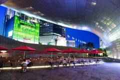 Площадь DDP дизайна Dongdaemun в Сеуле Стоковые Изображения
