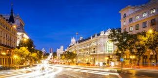 Площадь de Ла Cibeles Мадрид Стоковые Изображения RF