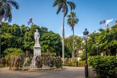 Площадь de Armas - Гавана, Куба Стоковая Фотография