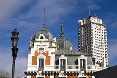 Площадь de España Стоковые Фотографии RF