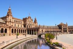 Площадь de Espana, Севилья Стоковое Фото
