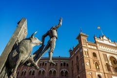 Площадь de Toros de Las Ventas в Мадриде Стоковые Изображения RF
