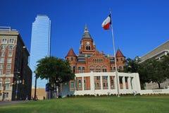 Площадь Dealey в городском Далласе Стоковое Изображение RF