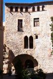 Площадь del Pallol Квадрат Таррагона, Каталония Стоковая Фотография